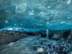 Crystal Ice Cave Adventure