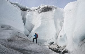 Ice Climbing with Glacier Adventure