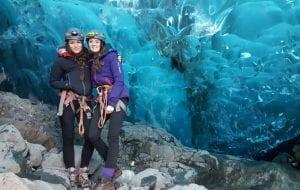 Waterfall Ice Cave 2016/2017