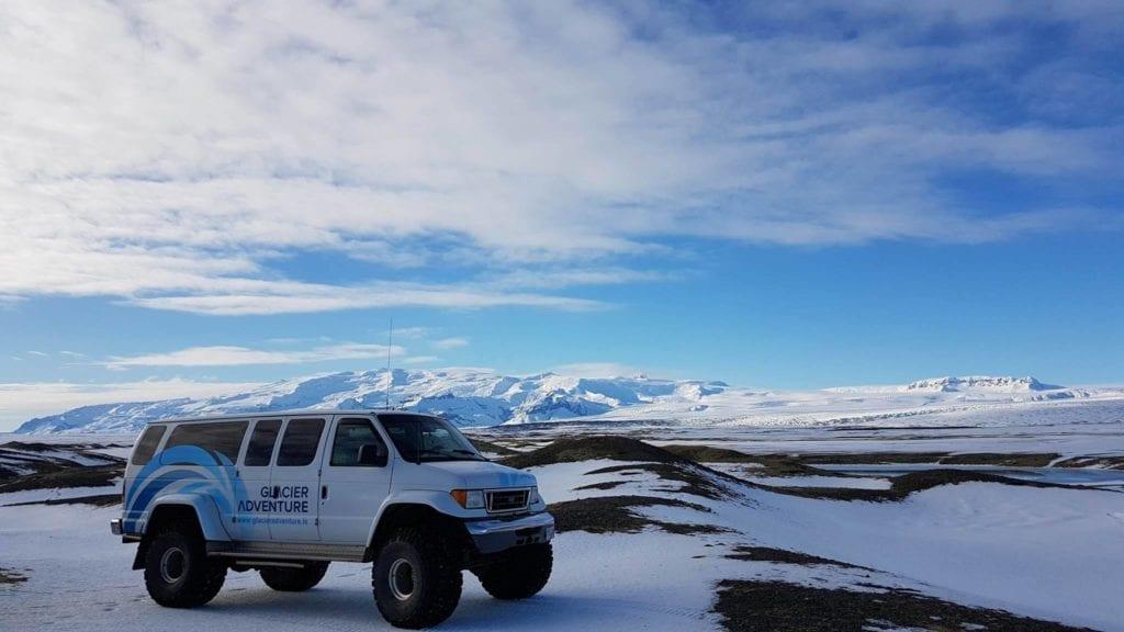 Super Jeep Glacier Ice Cave Vatnajökull Glacier Lagoon