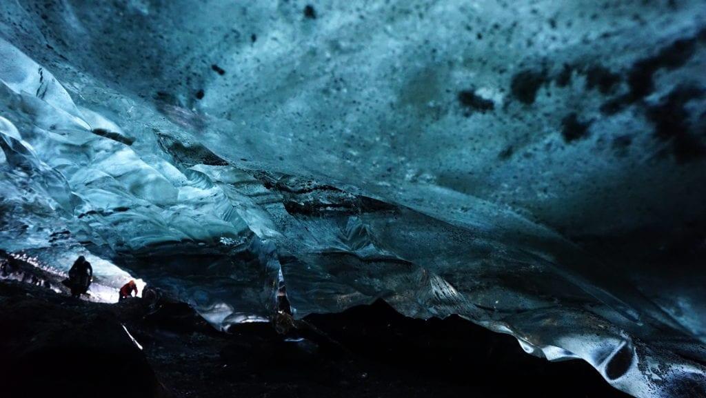 Glacier Walk Ice Cave Vatnajökull Glacier Lagoon Blue Treasure Cave