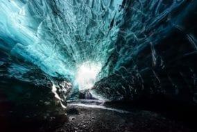 Blue Ice Cave January 2019 by Marcin Grzyb