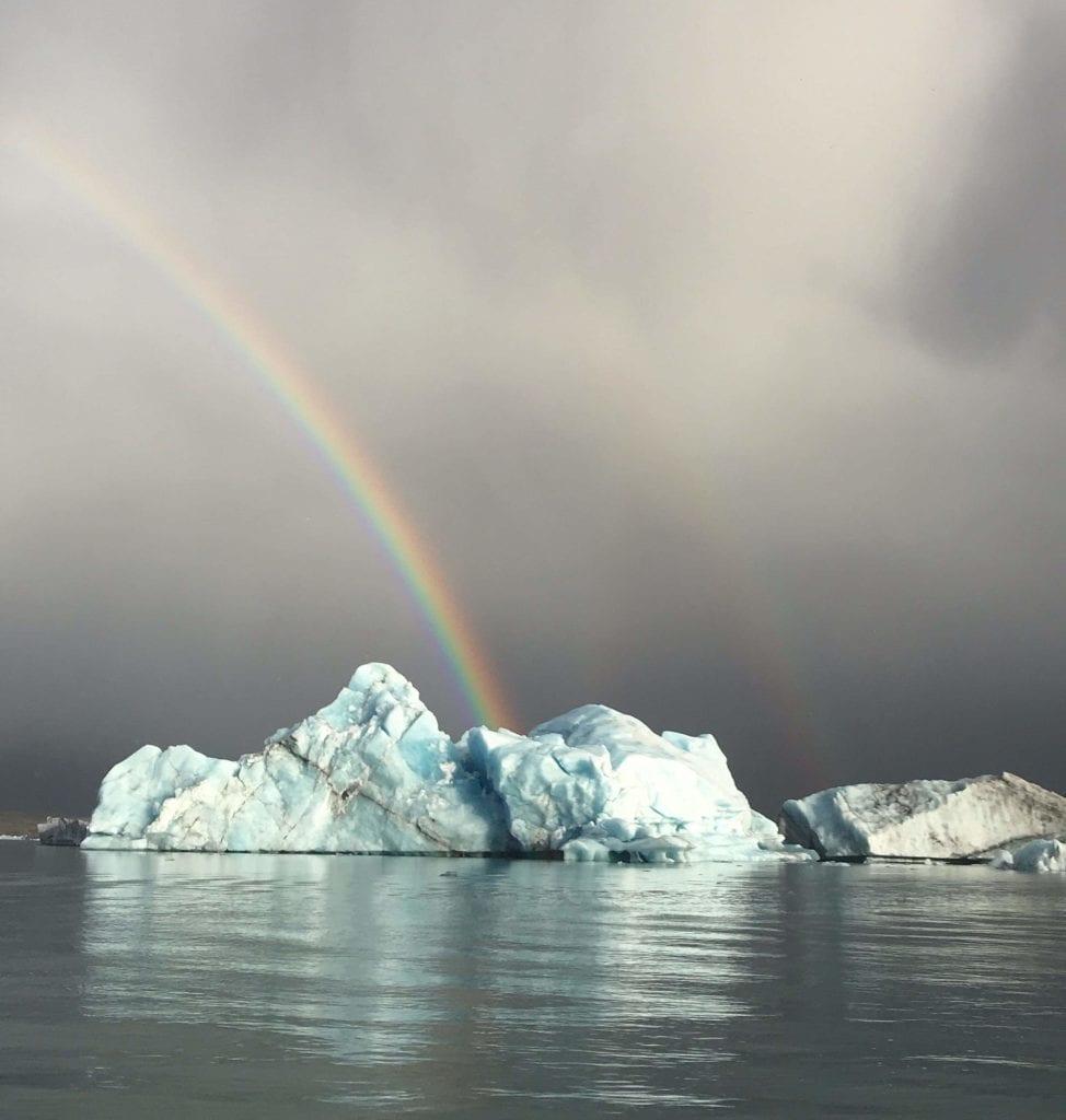 glacier lagoon iceberg
