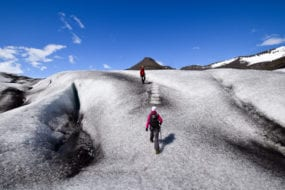 Glacier hike and Snowmobile Tour and glacier tour