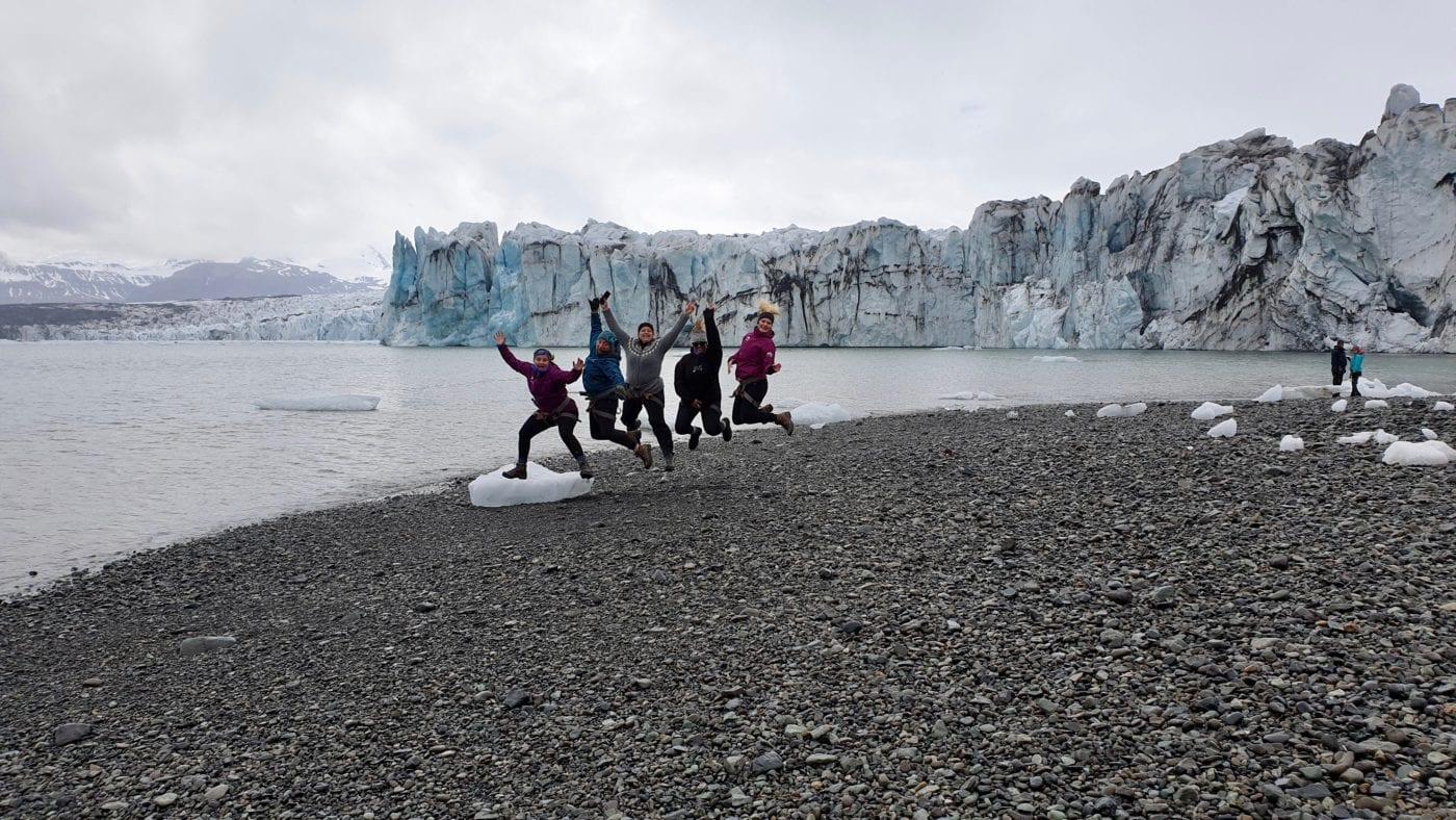 Glacier Adventure Summer Tour Edge Breiðarmerkurjökull