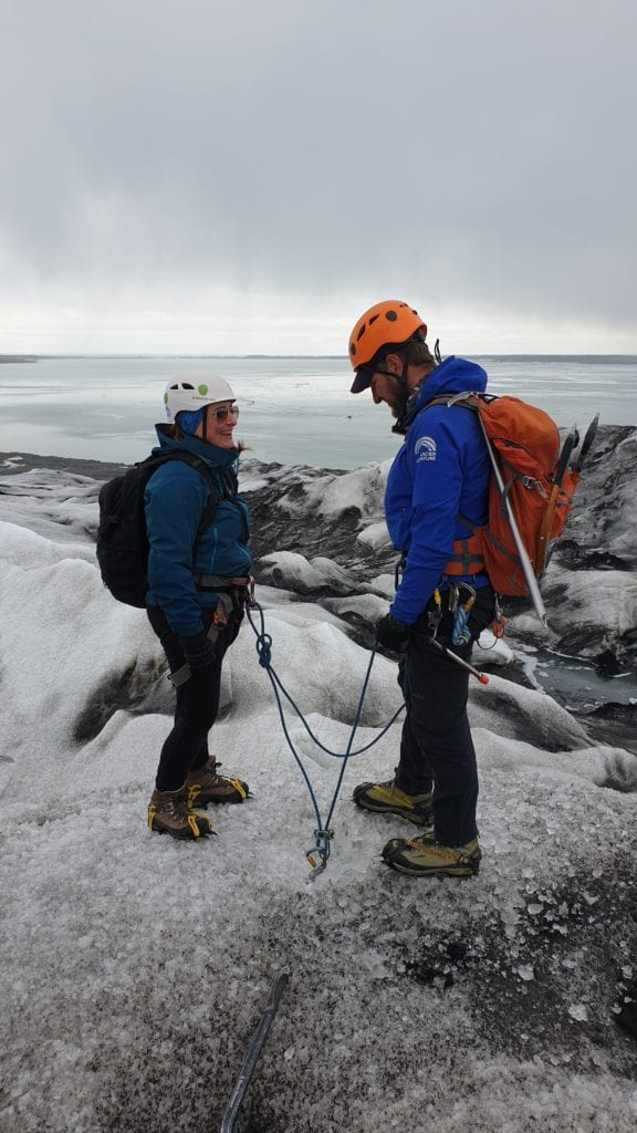 Blue Ice Cave Adventure Iceland Travel