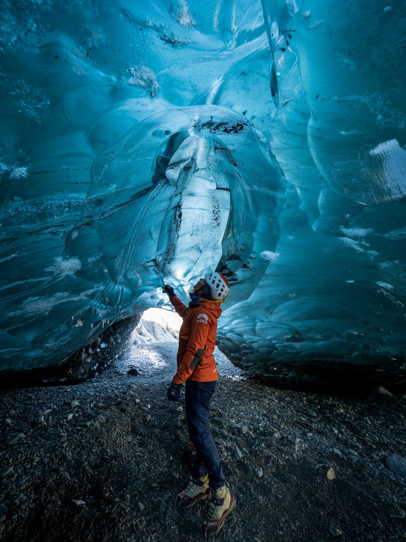 Blue Ice Cave Adventure Iceland Vatnajökull Glacier Lagoon