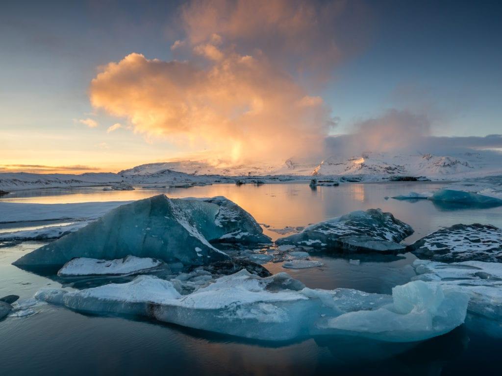 Diamond Beach Glacier Lagoon Iceland Jökulsárlón