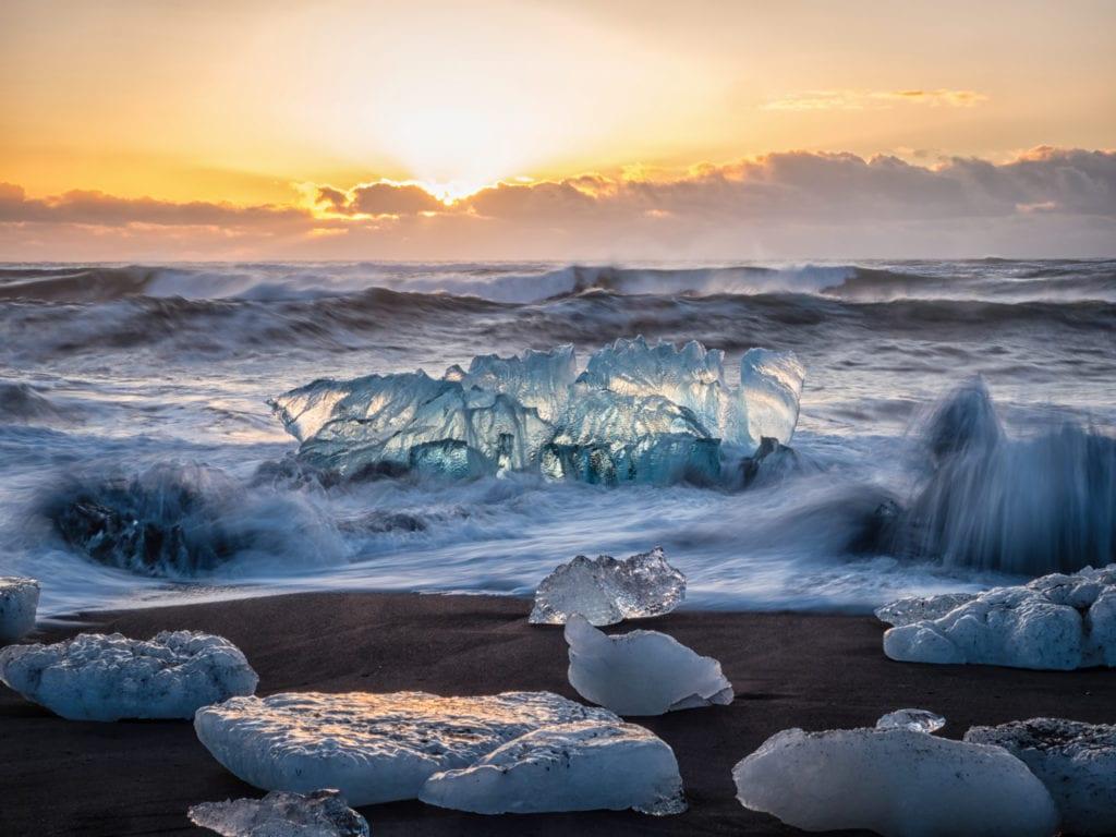 Diamond Beach Glacier Lagoon Iceland