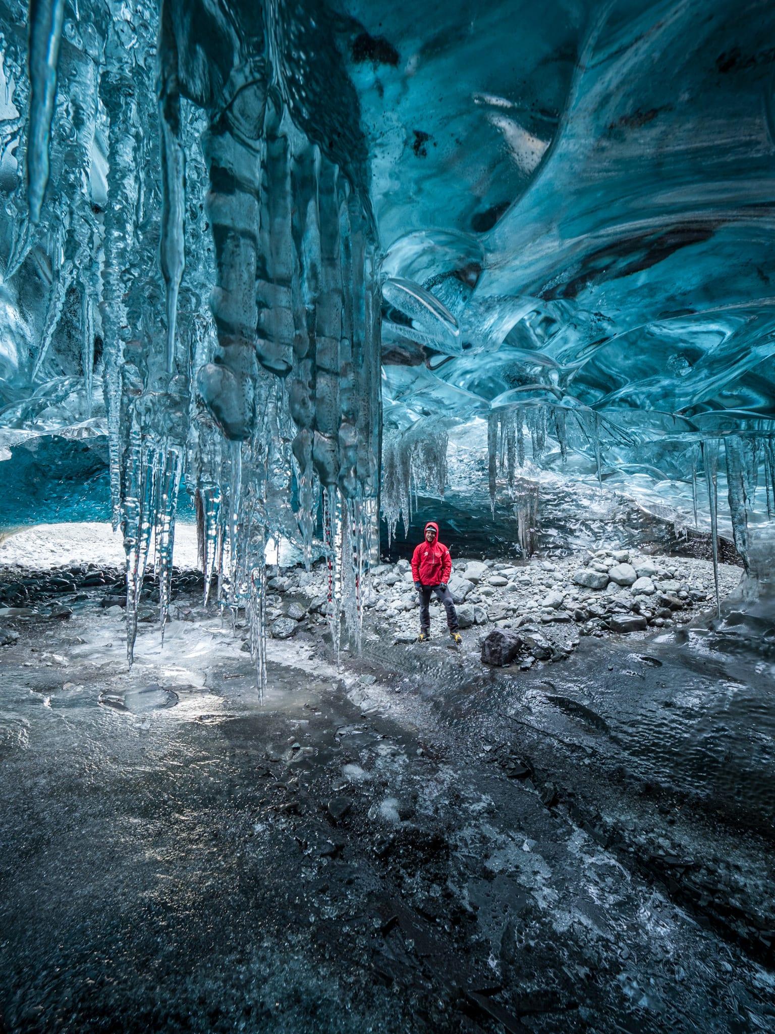 Crystal Ice Cave Adventure Tour Iceland Vatnajökull