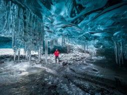 Íshellaferð með Glacier Adventure