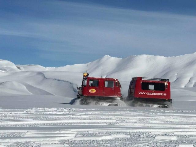 Snowmobiling Tour Vatnajökull Glacier Iceland