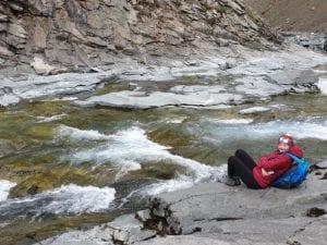 Nautastígur mountaineering