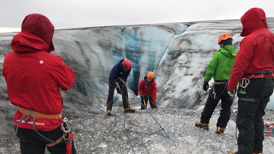 Glacier Course Iceland AIMG