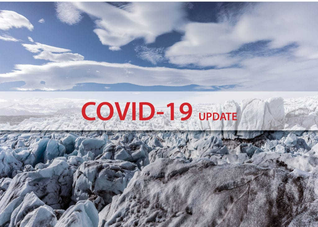 Traveling to Iceland in Covid times, Glacier trip