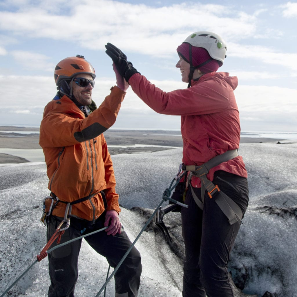 Hard Ice 1 courses with AIMG instructors